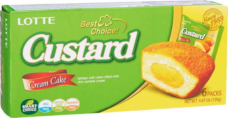 Custard Cake Bolo de Creme Lotte