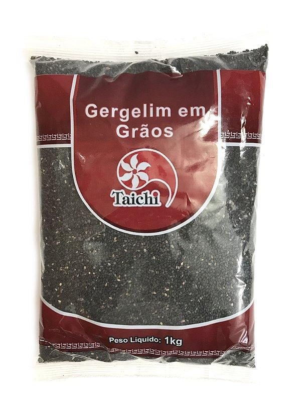 Gergelim Preto Cru 1kg Taichi