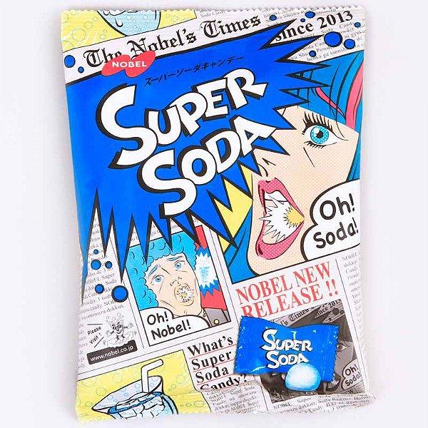 Bala Japonesa Super Soda 84g Nobel