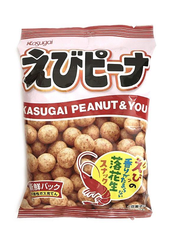 Salgadinho de Camarão 85g Kasugai Ebi Peanuts