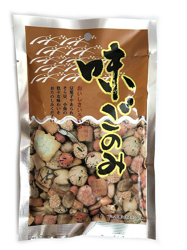 Salgadinho Misto Ajigonomi 80g Poppo Nuts