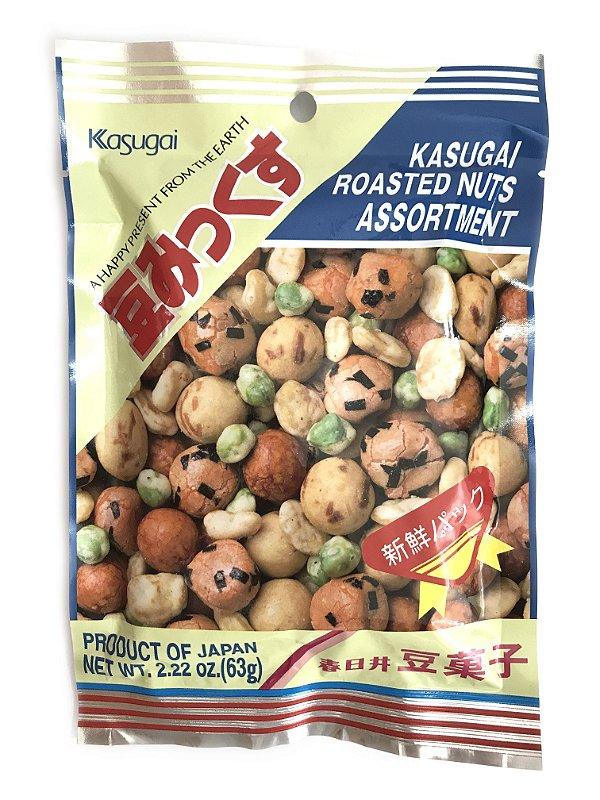Salgadinho Sortido 63g Kasugai Roasted Nuts Assortment