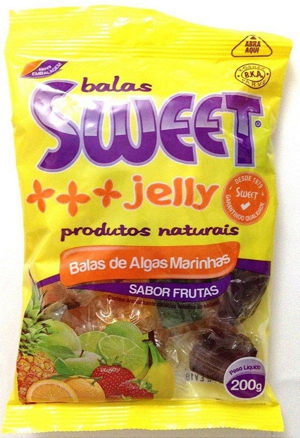 Bala de Algas Marinhas - Frutas - Sweet Jelly