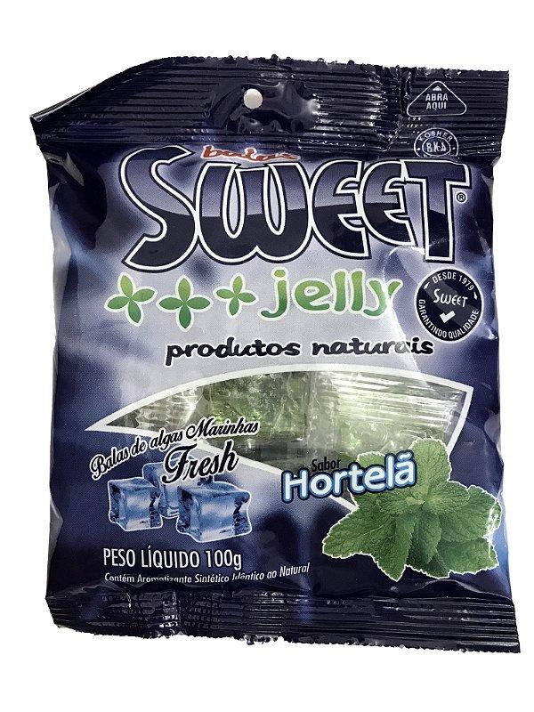 Bala de Algas Marinhas - Hortelã - Sweet Jelly
