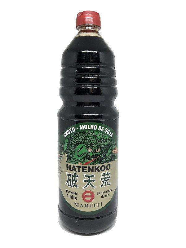 Molho de Soja Shoyu Hatenkoo Maruiti - Frasco 1 litro
