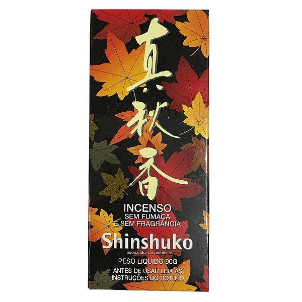 Incenso Sem Fumaça e Sem Fragância Shinshuko 90g Barão Kôbo