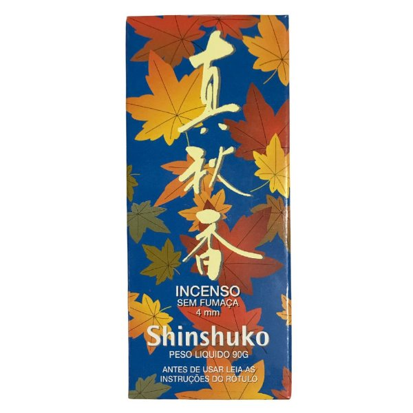 Incenso Sem Fumaça Shinshuko 4mm 90g Barão Kôbo