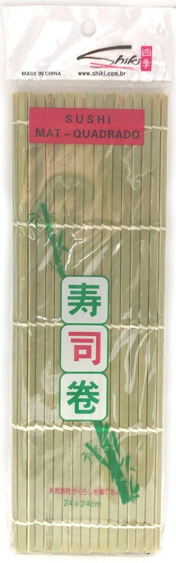 Esteira para Sushi de Bambu Sudare
