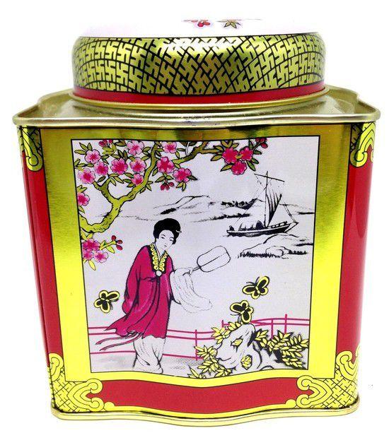 Chá de Jasmin em Lata Gold
