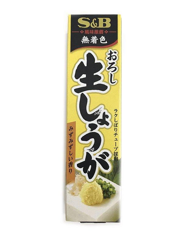 Gengibre em Pasta Oroshi Nama Shoga 40g S&B