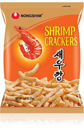 Salgadinho de Camarão Shrimp Cracker 75g Nongshim