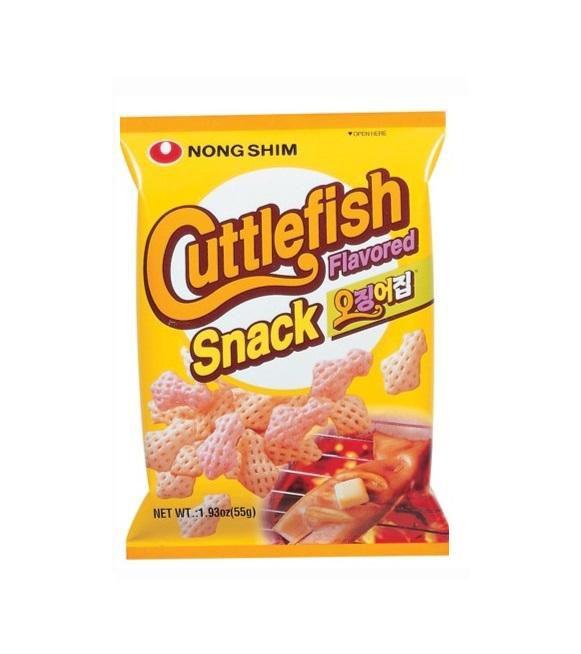 Salgadinho de Lula Cuttlefish Snack 55g Nongshim