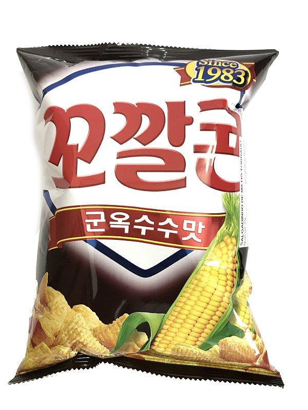 Salgadinho de Milho Torrado 77g Lotte