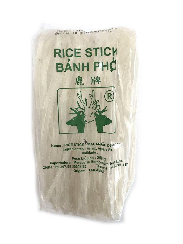 Macarrão de Arroz Grosso 5mm 200g Banh Pho