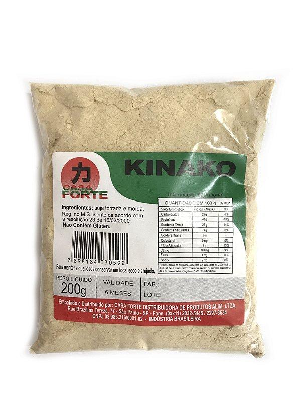Kinako Farinha de Soja Torrada 200g Casa Forte
