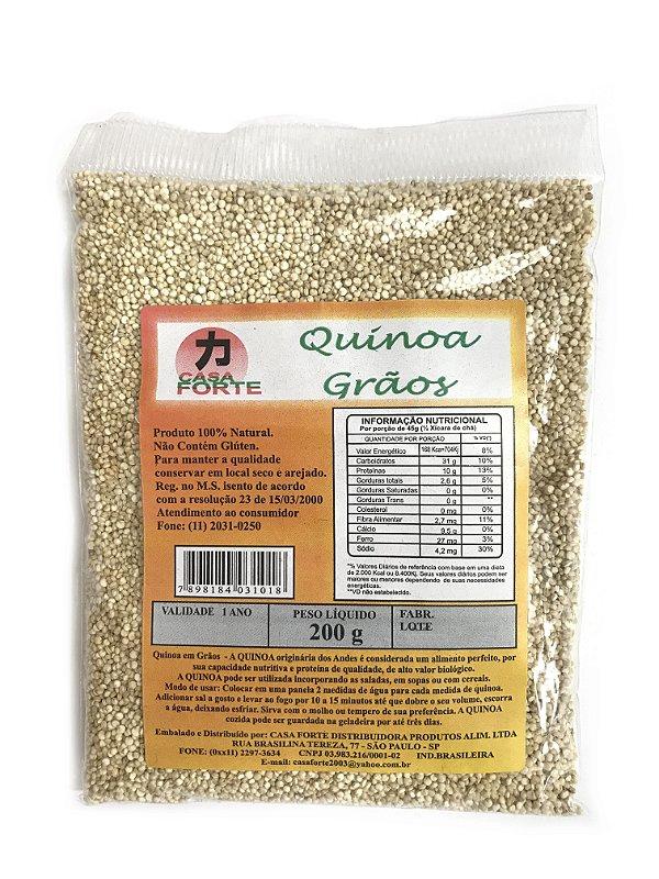 Quinoa em Grãos 200g Casa Forte