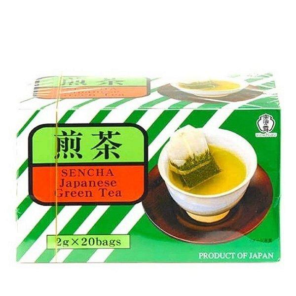 Chá Verde Sencha Green 20 sachês Ujinotsuyu