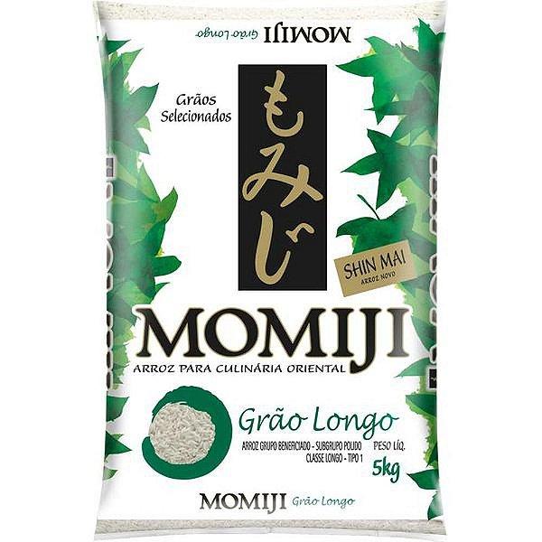 Arroz Japonês Grão Longo 5kg Momiji