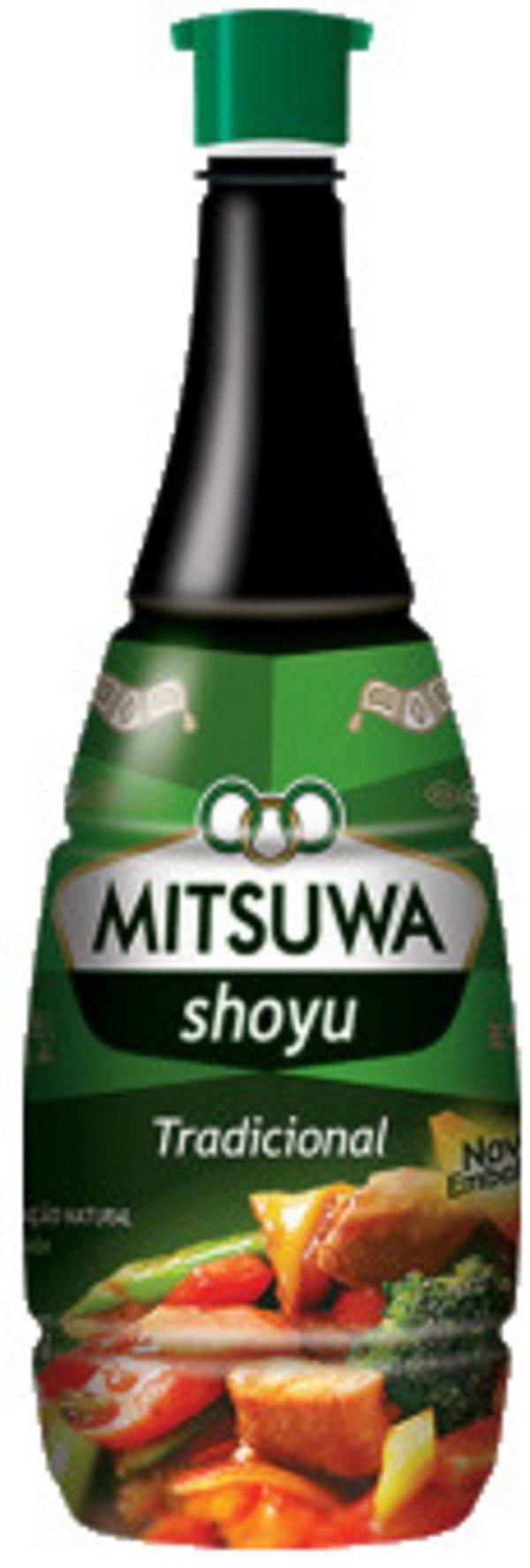 Molho de Soja Shoyu Tradicional 900ml Mitsuwa