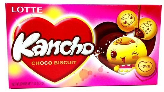 Biscoito Kancho Chocolate Lotte
