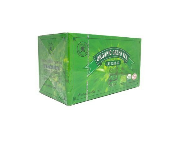 Chá Verde Orgânico - 25 Sachês - Fujian