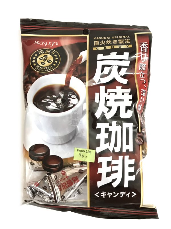 Bala Japonesa de Café Kasugai Sumiyaki Coffee Candy