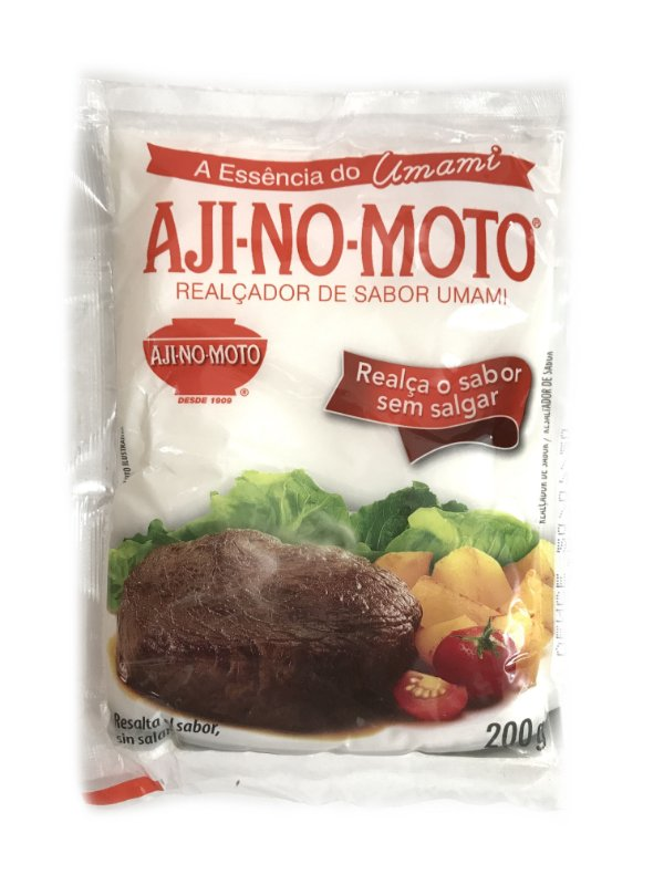Glutamato Monossódico Realçador de Sabor 200g Ajinomoto