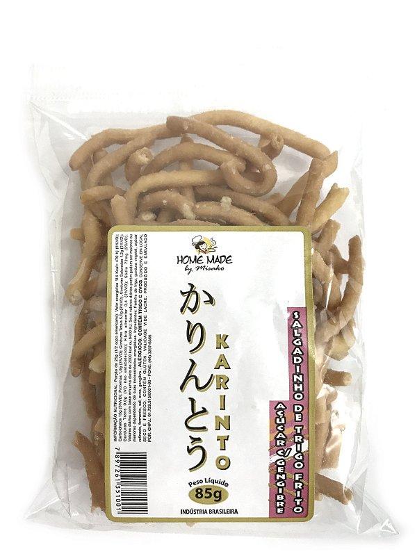 Salgadinho de Trigo Frito Karinto Açúcar com Gengibre 85g Home Made