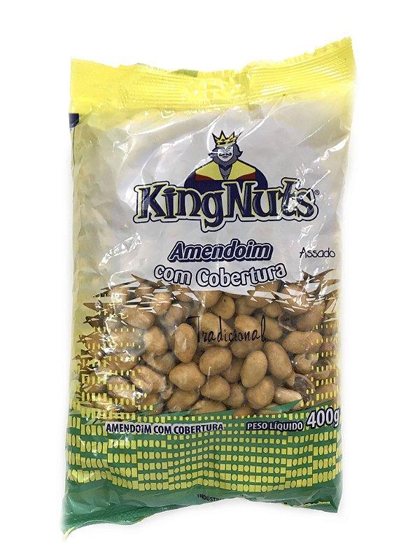 Amendoim com Cobertura Tradicional 400g KingNuts