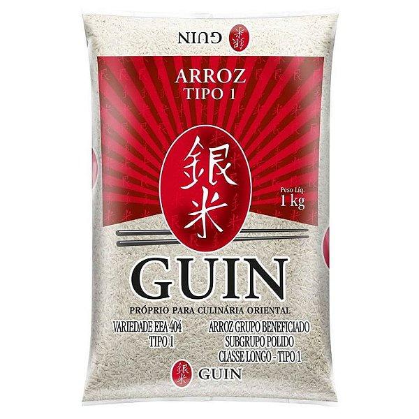 Arroz Japonês Grão Longo 1kg Guin