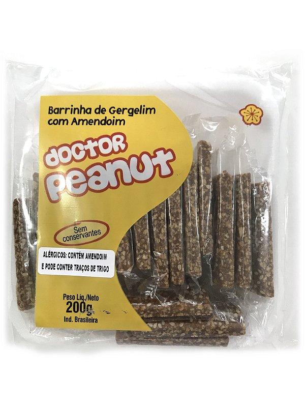 Barrinha de Amendoim com Gergelim 200g Doctor Peanut