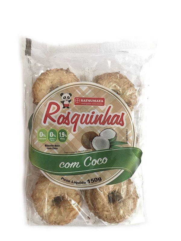 Rosquinhas de Coco Pacote com 150g Satsumaya