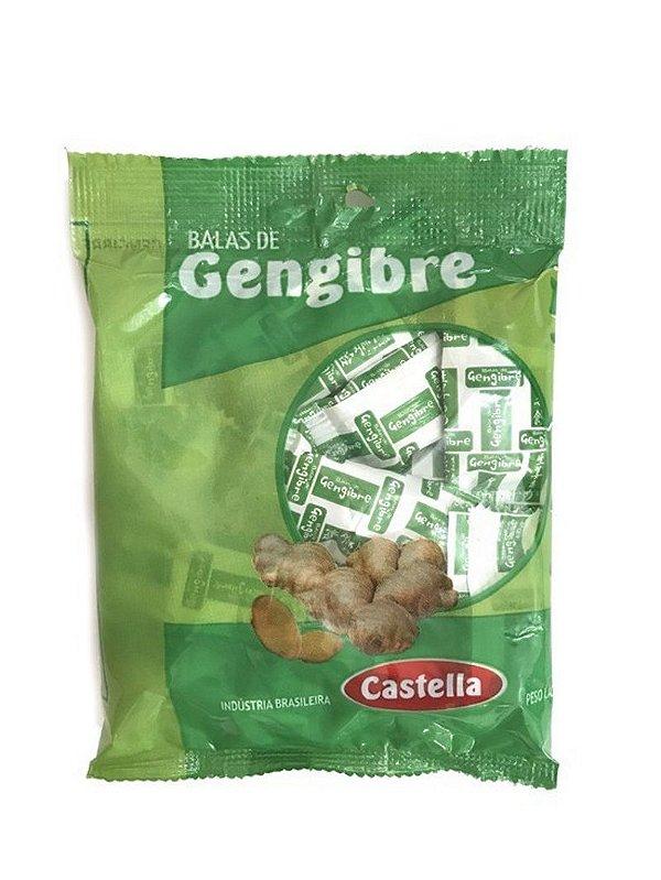 Bala de Gengibre 60g Castella