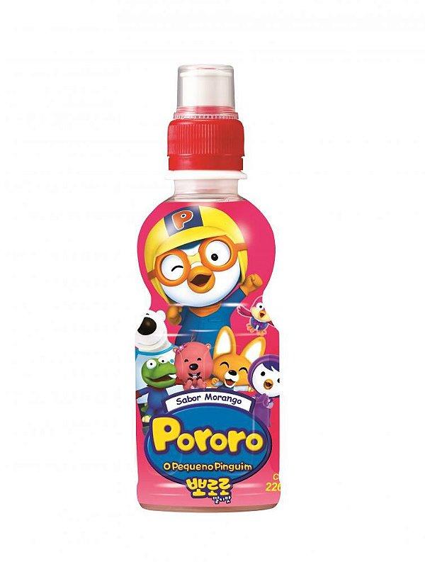 Bebida Pororo Morango 226ml