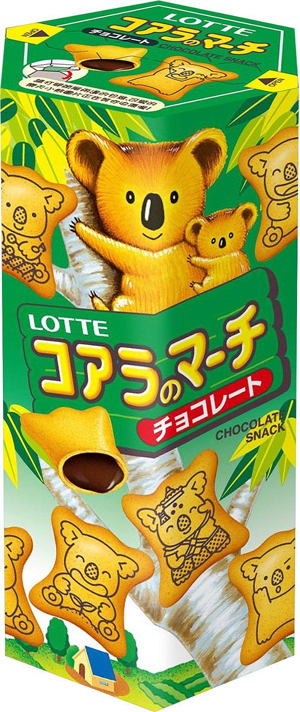Biscoito Koala Chocolate Lotte