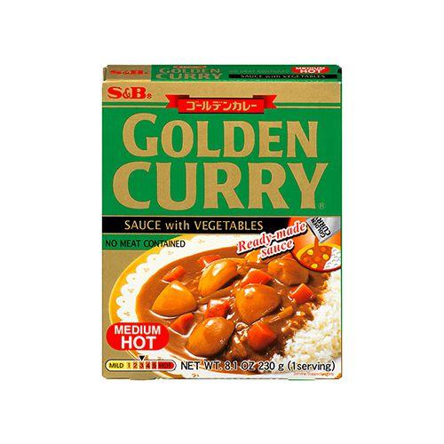 Golden Curry Instantâneo Chukara 230g S&B