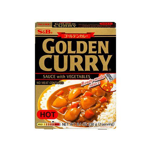Golden Curry Instantâneo Karakuchi 230g S&B