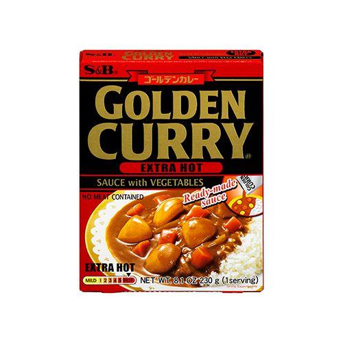 Golden Curry Instantâneo Ookara 230g S&B