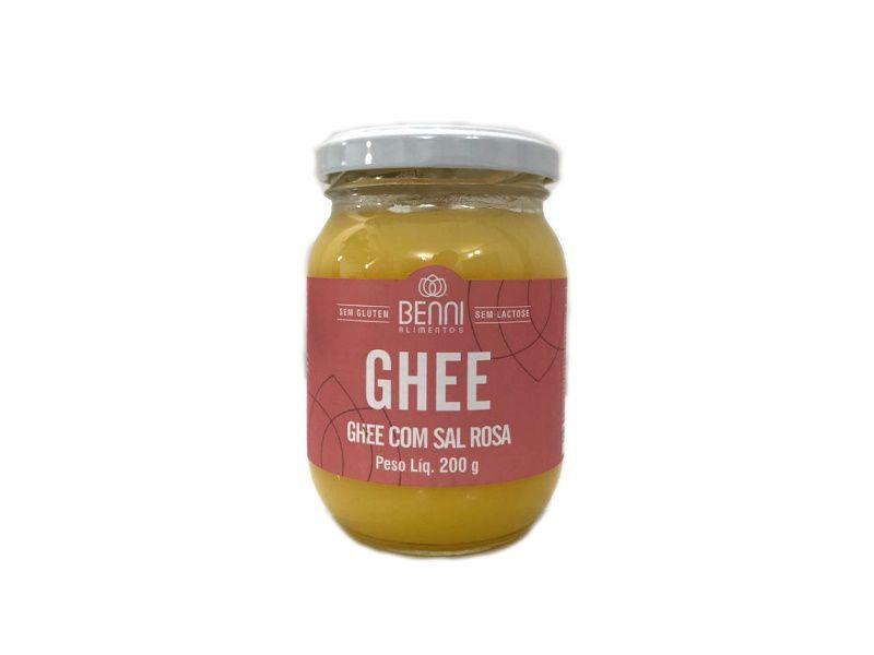 Manteiga Ghee com Sal Rosa 200g Benni