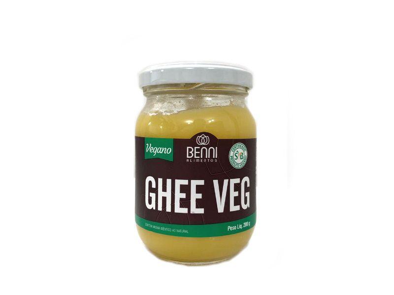 Manteiga Ghee Veg Tradicional 200g Benni