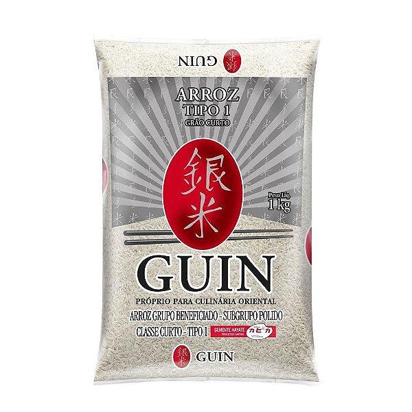 Arroz Japonês Grão Curto 5kg Guin