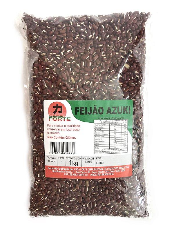 Feijão Azuki 1kg Casa Forte