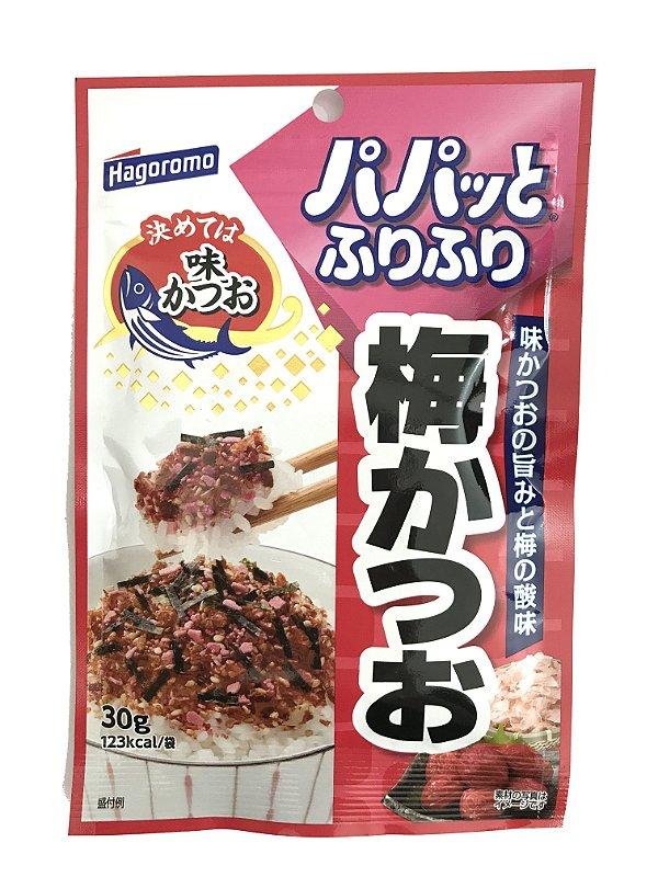 Furikake Hagoromo Ume Katsuo (Ameixa Japonesa com Peixe Bonito)
