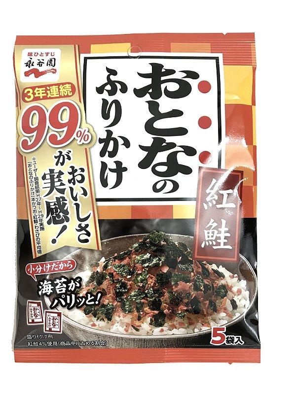 Furikake Otona 5 sachês Nagatanien Sabor Benisake