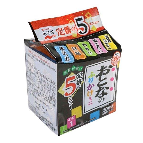 Furikake Pacote com 20 sachês Otona Mini 1