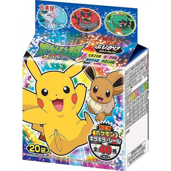 Furikake Pacote com 20 sachês Pokémon