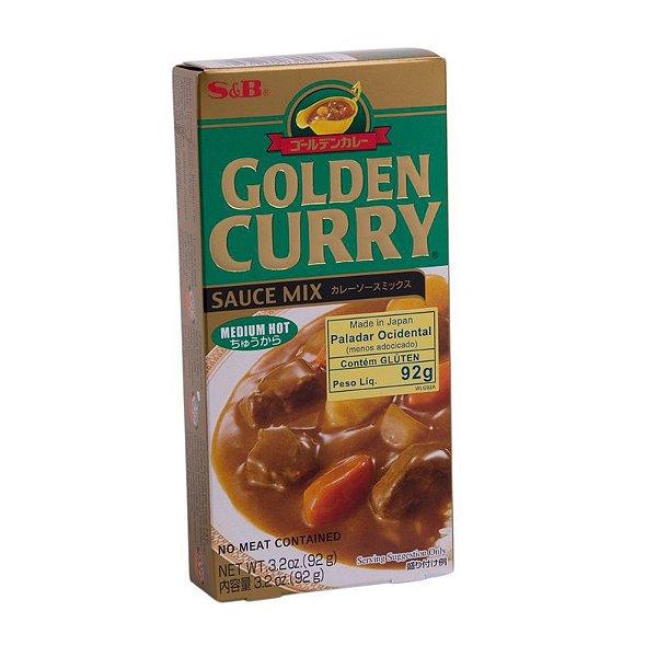 Golden Curry Chukara Médio 92g S&B