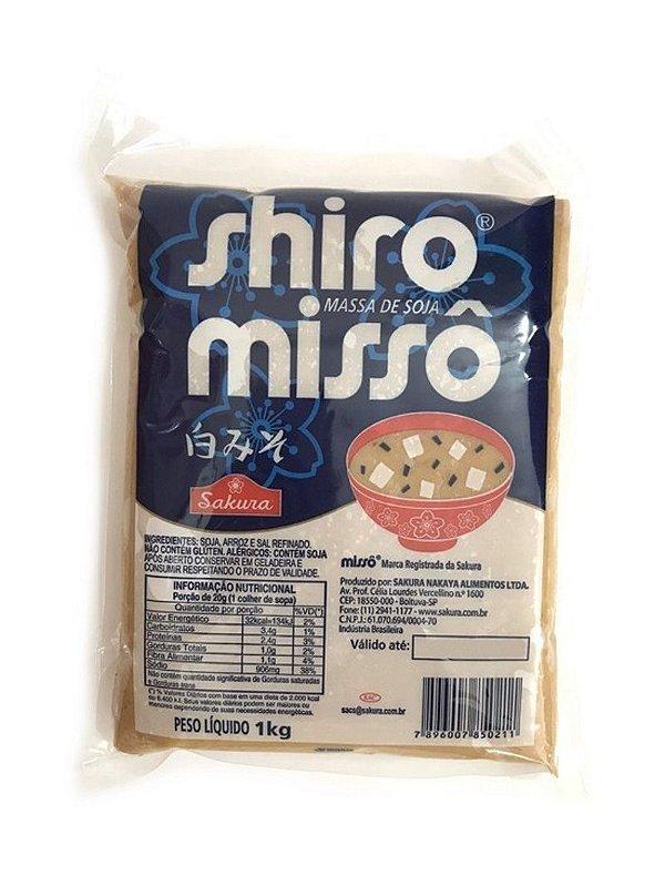 Massa de Soja Missô Shiro 1kg Sakura