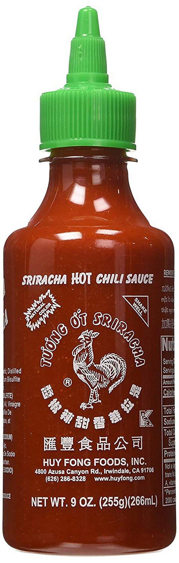 Molho de Pimenta Sriracha Hot Chili Sauce 255g