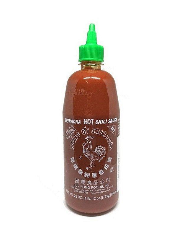 Molho de Pimenta Sriracha Hot Chili Sauce 793g
